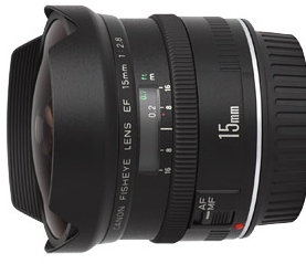 CANON FISHEYE 15 mm F/2,8  42€