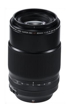 FUJINON XF80 mm f/2,8  R  LM OIS WR Macro chez A2 photo